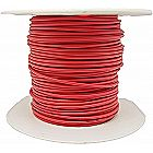 100ft Solid Copper Wire 22 Gauge UL1007 Rated RED