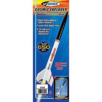 Estes Model Rocket Cosmic Explorer 2421 Kit Skill Level 1