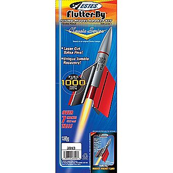 Estes Model Rocket Flutter-By 3013 Kit Skill Level 1