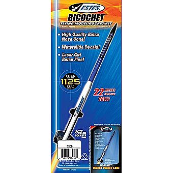 Estes Model Rocket Ricochet 3208 Kit Skill Level 1