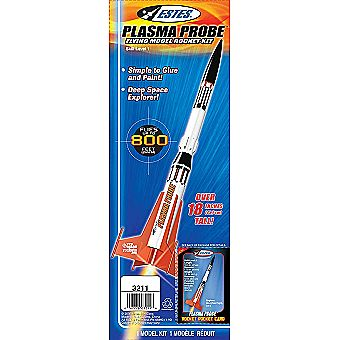 Estes Model Rocket Plasma Probe 3211 Kit Skill Level 1