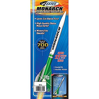 Estes Model Rocket Monarch 7214 Kit Skill Level 1