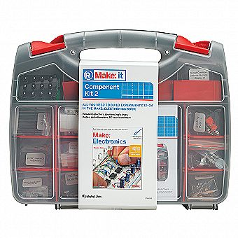 Radioshack Make Electronics Component Pack 2 - 1st Edition