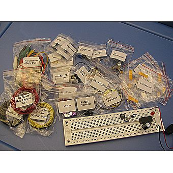 Make: Electronics 2nd Ed Ultimate Electronic Kit Component Packs 1 2, & 3 (Int. Version - Economy Bagged)
