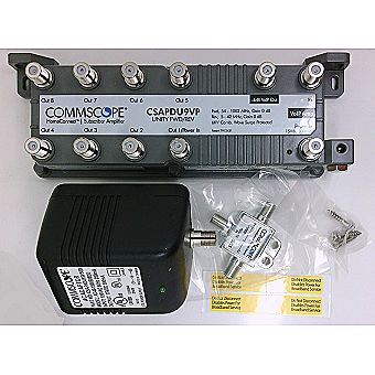 Commscope CSAPDU9VPI Passive VoIP Amplifier with Power Inserter