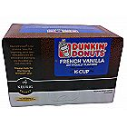 Dunkin Donuts K-Cups French Vanilla Flavor 12 Kcup Pack for Keurig
