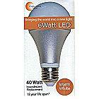 40 Watt Equivalent 6 Watt LED 3000K Warm White 382