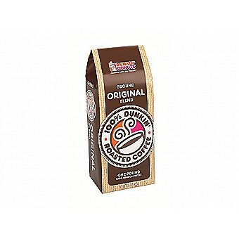 Dunkin Donuts Ground Coffee 1 lb / 16 oz Bag Original Blend One Pound