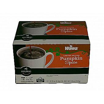 Wawa K-Cups Pumpkin Spice Flavor 12 Pack for Keurig