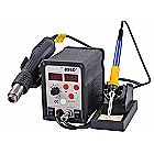 898d Soldering & SMD Rework Station Hot Air Gun Solder Iron 2in1