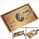 64GB USB Flash Drive Credit Card Style American Ex