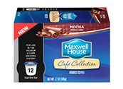 Maxwell House Cafe Collection K-Cups 12 Pack Mocha