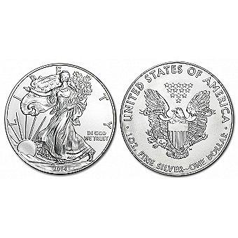 2014 1 oz Silver American Eagle
