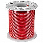 Consolidated Wire 22 AWG (Gauge) Red Solid Hook-U
