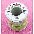 Consolidated Wire 22 AWG (Gauge) Yellow Solid Hoo