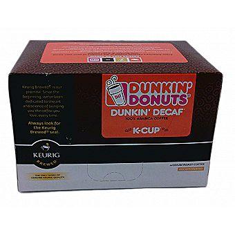 Dunkin Donuts K-Cups Decaf Flavor 12 Kcup Pack for Keurig