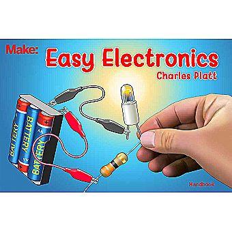 Make: Easy Electronics Book by Charles Platt (Paperback)