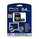 PNY 64 GB Professional X MicroSDXC Flash Card P-SDUX64U1-GE
