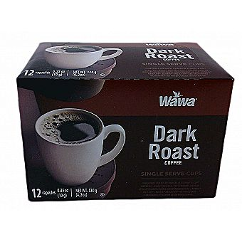 WaWa K-Cups Dark Roast Flavor 12 Pack for Keurig