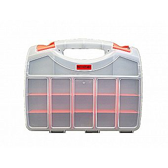 Double Sided Parts Storage Organizer Carrying Case 36