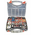 Double Sided Parts Storage Organizer Carrying Case 36 Compartments