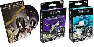 Criss Angel Magic Set - Penetration Pen - Money Printer Volume 6 DVD
