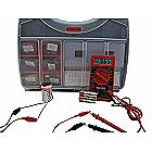 Ultimate Make: Electronics Kit Bundle - Includes All 3 Electronic Component Kits and Make: Electronics (2nd ED) Book by Charles Platt - STEM Electronics Science Education Set for Beginners- Teen-Adult