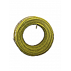 100ft 22AWG - Solid Copper Wire Yellow PVC Insulation UL1007 Rated 300V 80℃ - Electronics Hookup Wire Tinned - Bagged