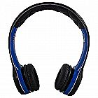 SOUL by Ludacris SL100UB Ultra Dynamic On-Ear Headphones (Black/Blue)