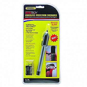 General Tools 505 Cordless Power Precision Engraver