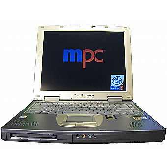 MPC Transport X1000 Laptop Mobile Intel 4-M 2.40GHZ
