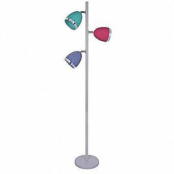 64 inch Multicolor 3 Light Tree Free Standing Floor Lamp Light