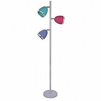 64 inch Multicolor 3 Light Tree Free Standing Floor Lamp Light