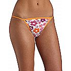 Fruit of the Loom Fashion Cotton String Bikini 4 Pack - Assorted