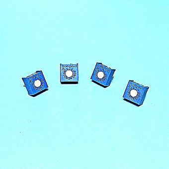 5 Piece 100K (104 )Trimmer Potentiometer - 3 Pin