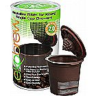 Ekobrew Refillable K-cup for Keurig Brewers - Brown - 1-Count