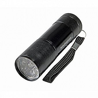 "3-1/2"" 9 LED Bright Mini Flashlight"