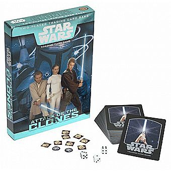 Star Wars Attack Of The Clones Trading Card Game WOTC