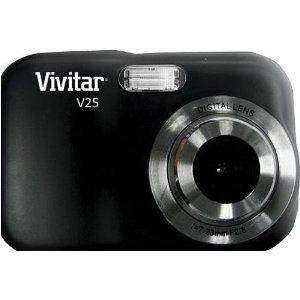 Vivitar 2.1 MP Camera - Black (V25-BLACK)