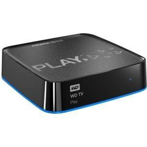 WD Retail WDBMBA0000NBK-HESN WD TV Play Media Player