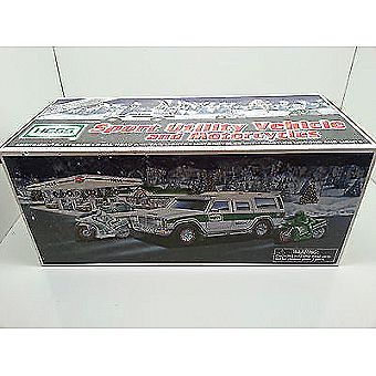 2004 HessToy Sport Utility Vehicle and Motorcycles Collectable in Box